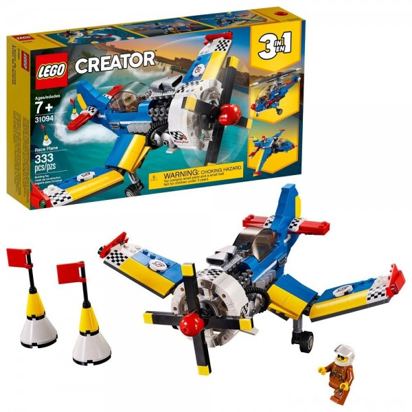 Black Friday - LEGO Creator Race Plane 31094
