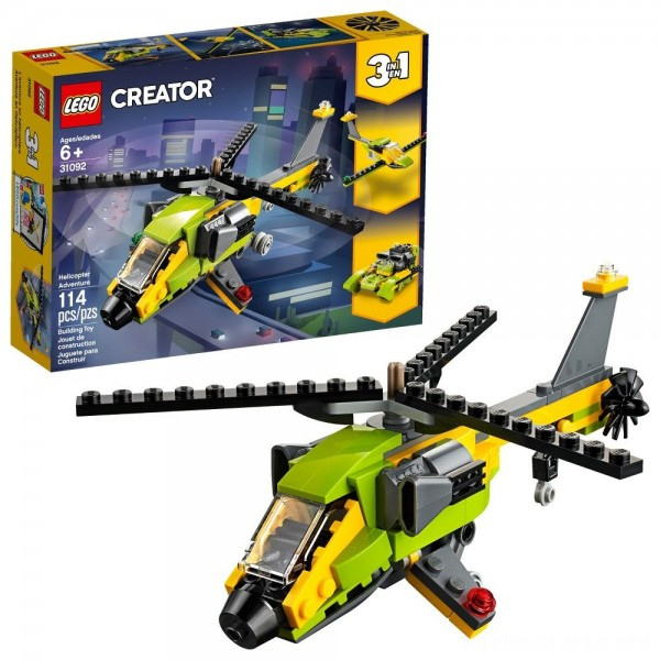 Black Friday - LEGO Creator Helicopter Adventure 31092