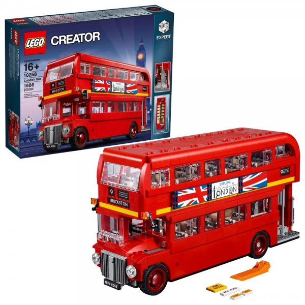 Black Friday - LEGO Creator Expert London Bus 10258