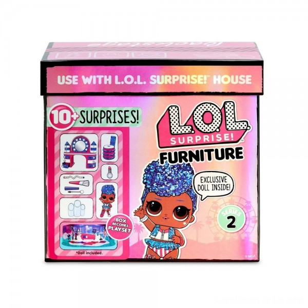 Black Friday - L.O.L. Surprise! Furniture Backstage with Independent Queen & 10+ Surprises