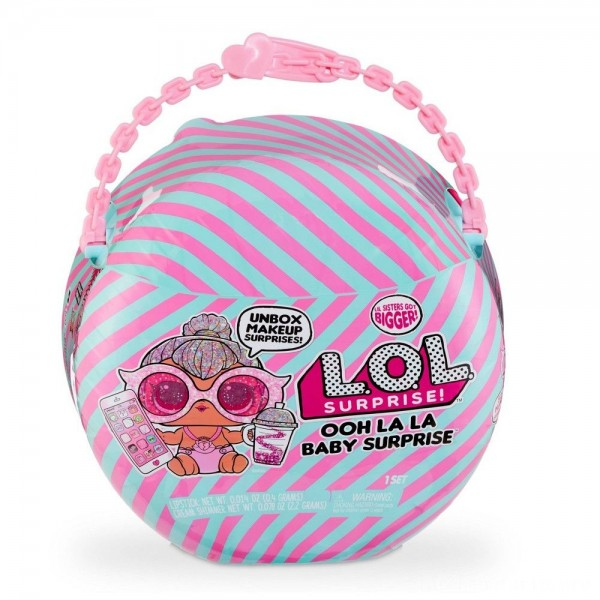Black Friday - L.O.L. Surprise! Ooh La La Baby Surprise Lil Kitty Queen with Purse & Makeup Surprises