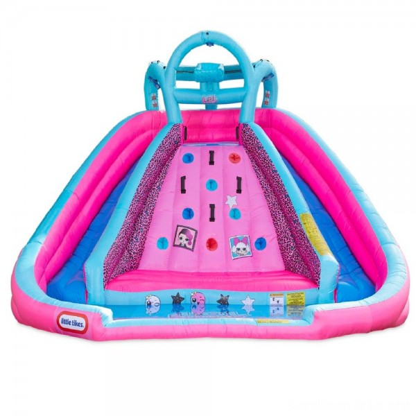 Black Friday - L.O.L. Surprise! Inflatable River Race Water Slide with Blower, Kids Unisex