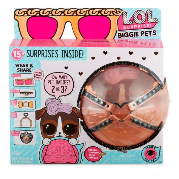 Black Friday - L.O.L. Surprise! Biggie Pet - D.J. K9
